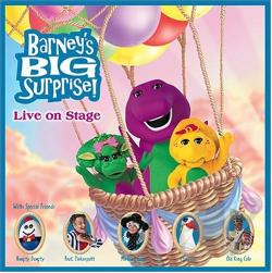 Barney - Barney's Big Surprise! Live on Stage CD Cover Art