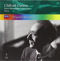 Curzon, Clifford - Clifford Curzon - Decca Recordings 1944-1970 Vol 4 CD Cover Art