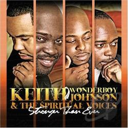 Johnson, Keith Wonderboy - Stronger Than Ever CD Cover Art