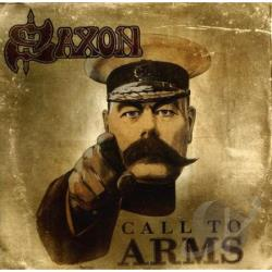 Saxon - Call to Arms CD Cover Art