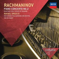 Orozco / Philharmonic Rotterdam / Virtuoso / Waart - Rachmaninov: Piano Concerto No. 2 CD Cover Art