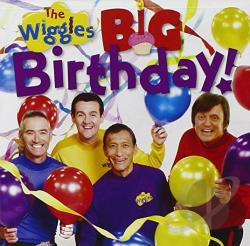 Wiggles - Big Birthday CD Cover Art