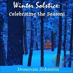 Donovan Johnson - Winter Solstice: Celebrate The Season! CD Cover Art