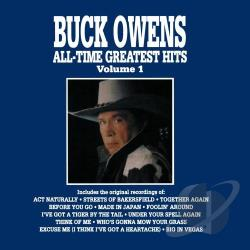 Owens, Buck - All - Time Greatest Hits, Vol. 1 CD Cover Art
