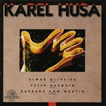 Husa, Karel - Husa: Violin Sonata; Piano Sonata No. 2; 12 Moravian Songs CD Cover Art