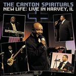 Canton Spirituals - New Life: Live in Harvey, IL CD Cover Art