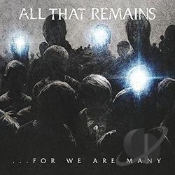 All That Remains - For We Are Many CD Cover Art