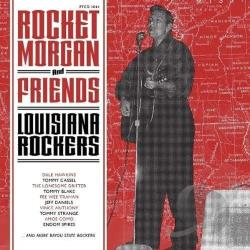 Rocket Morgan - Louisiana Rockers CD Cover Art