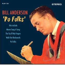 Anderson, Bill - Po Folks CD Cover Art