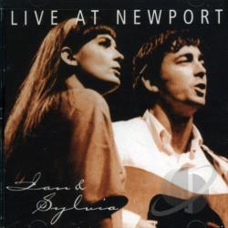 Ian & Sylvia - Live at Newport CD Cover Art