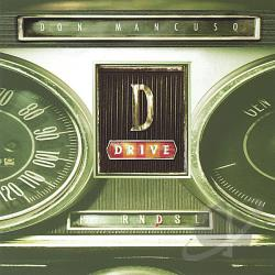 Mancuso, Don - D: Drive CD Cover Art