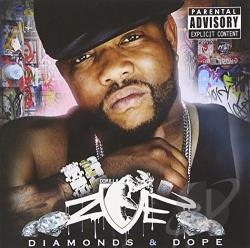 Gorilla Zoe - Diamonds & Dope CD Cover Art