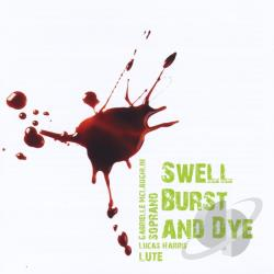 Mclaughlin, Gabrielle & Lucas Harris - Swell Burst & Dye CD Cover Art