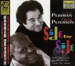 Perlman, Itzhak / Peterson, Oscar - Side by Side CD Cover Art