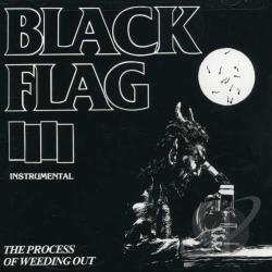 Black Flag - Process of Weeding Out CD Cover Art