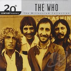 Who - 20th Century Masters - The Millennium Collection: The Best of The Who CD Cover Art