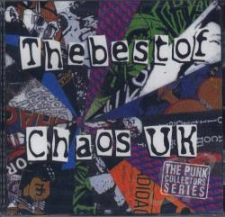 Chaos U.K. - Best of Chaos UK CD Cover Art