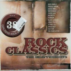 Rock Classics: The Heavyweights CD Cover Art