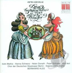 Berlin Staatskapelle / K-Lee / Nicolai - Otto Nicolai: Die lustigen Wieber von Windsor CD Cover Art