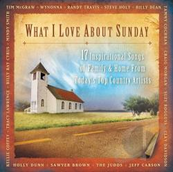 What I Love About Sunday CD Cover Art