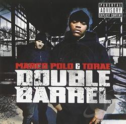 Torae & Marco Polo - Double Barrel CD Cover Art