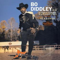 Diddley, Bo - Bo Diddley Is a Gunslinger/Bo Diddley Is a Lover CD Cover Art