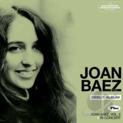 Baez, Joan - Joan Baez in Concert, Vols. 1 & 2 CD Cover Art
