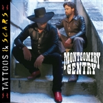 Montgomery Gentry - Tattoos & Scars CD Cover Art