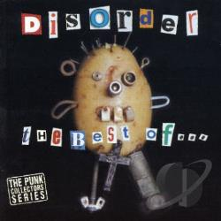 Disorder - Best Of Disorder CD Cover Art