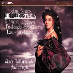Strauss, J. - Strauss: Die Fledermaus CD Cover Art