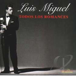 Miguel, Luis - Todos Los Romances CD Cover Art