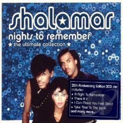 Shalamar - Nights To Remember: The Ultimate Collection CD Cover Art
