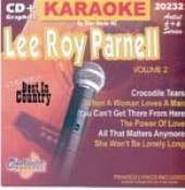 Parnell, Lee Roy - Karaoke: Lee Roy Parnell 2 CD Cover Art