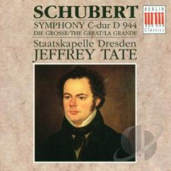 Staatskapelle Dresden; Jeffrey Tate - Schubert: Symphony No. 9 In C Great, CD Cover Art