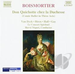 Boismortier / Niquet - Boismortier: Don Quichotte chez la Duchesse CD Cover Art