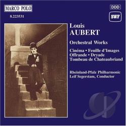 Aubert - Aubert: Offrande, Tombeau de Chateaubriand, etc, Segerstam CD Cover Art