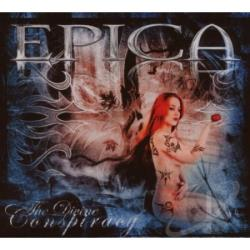 Epica - Divine Conspiracy (LTD. Ed. Im CD Cover Art