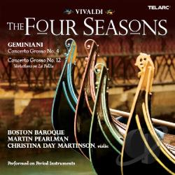 Boston Baroque / Vivaldi - Vivaldi: The Four Seasons CD Cover Art