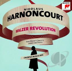Harnoncourt, Nikolaus - Walzer Revolution CD Cover Art
