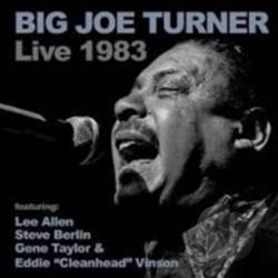 Turner, Big Joe - Big Joe Turner Live 1983 CD Cover Art
