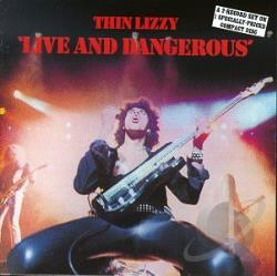 Thin Lizzy - Live and Dangerous CD Cover Art