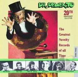 Dr. Demento - Dr. Demento 20th Anniversary Collection: The Greatest Novelty Records of All Time CD Cover Art