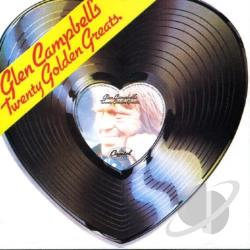 Campbell, Glen - 20 Golden Greats CD Cover Art