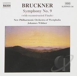 Bruckner / New Phil Orch Of Westphalia / Wildner - Bruckner: Symphony No. 9 CD Cover Art