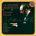 Horowitz, Vladimir - Favorite Encores CD Cover Art