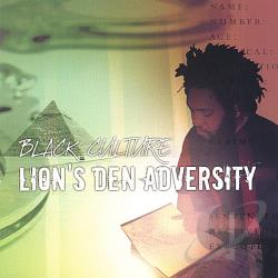 Black Culture - Lions Den Adversity CD Cover Art