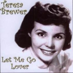 Brewer, Teresa - Let Me Go Lover CD Cover Art