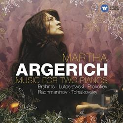 Argerich, Martha - Brahms, Prokofiev, Rachmaninov: Music for Two Pianos CD Cover Art