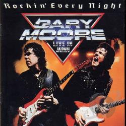 Moore, Gary - Rockin' Every Night CD Cover Art