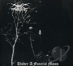 Darkthrone - Under A Funeral Moon. CD Cover Art
